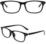 Doober Vintage Men Women Unisex Eyeglasses Frame Spectacles Optical Glasses Eyewear (, 5.3)