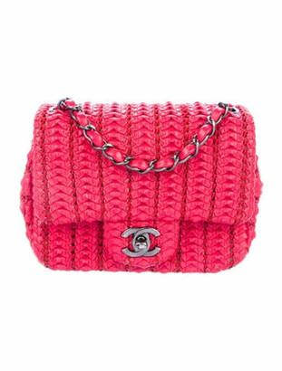 Chanel Small Crochet Lambskin Flap Bag