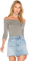 Riller & Fount Clint Off Shoulder Top