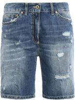 Dondup Newholly Faded Denim Shorts