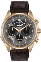 Citizen Eco-Drive Men'S Rose Gold Tone Calibre 2100 Limited Edition Watch Av0063-01H