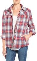 Velvet by Graham & Spencer Women's Plaid Shirt Jacket