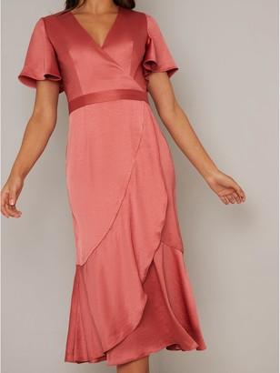 Chi Chi London Yelissa Dress - Orange