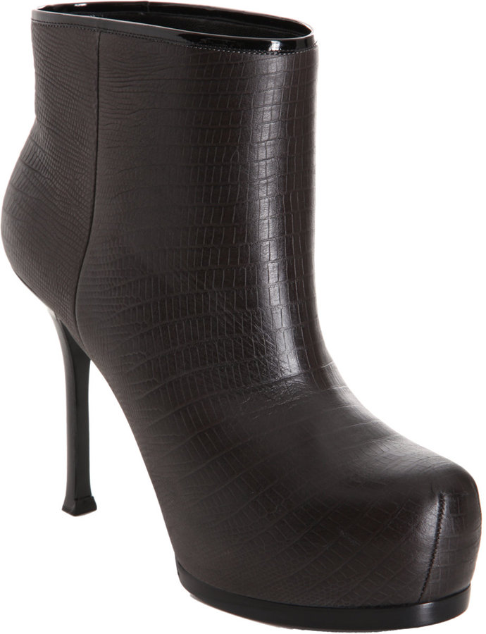 Yves Saint Laurent Tribtoo Ankle Boot