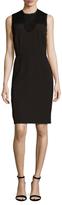 Ava & Aiden Lace Contrast Sheath Dress