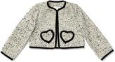 Marie Chantal Monochrome Collarless Jacket