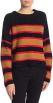 Sanctuary Ezra Stripe Crewneck Sweater (Regular & Petite)