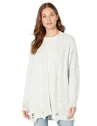 Splendid Women's Sleeve Long Cardigan Sweater