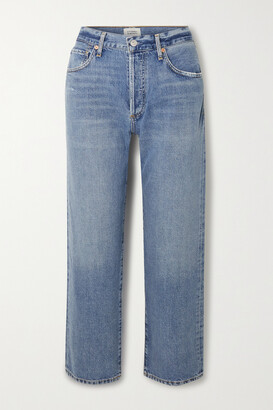 Citizens of Humanity - Emery High-rise Straight-leg Jeans - Blue