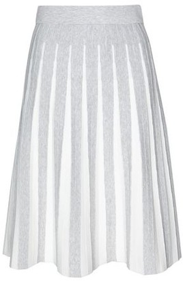 8 By YOOX Knee length skirt