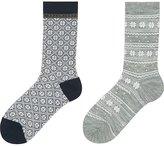 Uniqlo Women Heattech Socks 2p (Snow)