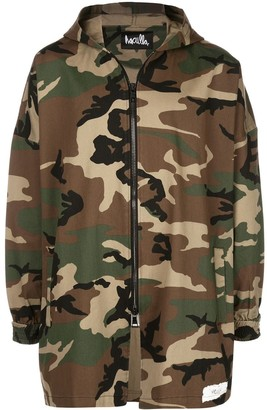 Haculla Camouflage Hooded Jacket