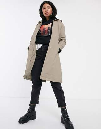 Rains belted waterproof trench coat-Beige