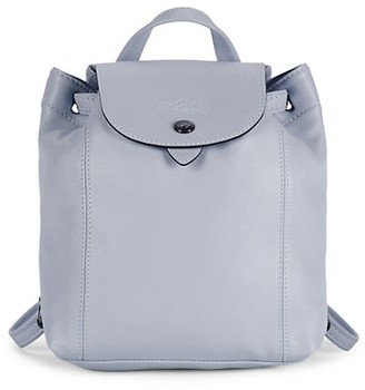 Longchamp XS Le Pliage Leather Backpack