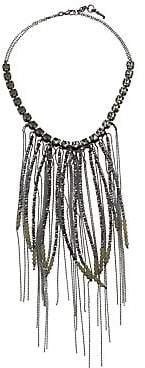 Fabiana Filippi Women's Mixed Bead Frontal Necklace