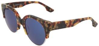 Alexander McQueen Women's Mq0048s 53Mm Sunglasses