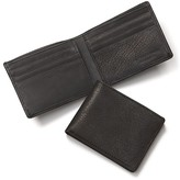 Bloomingdale's The Men's Store at Black Leather Bifold Wallet