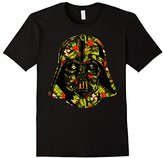 Star Wars Hawaiian Print Darth Vader Helmet Graphic T-Shirt
