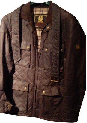 Belstaff Brown Cotton Jackets