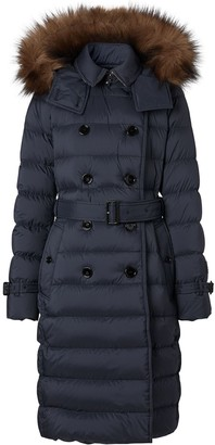 Burberry Detachable Hood Padded Coat