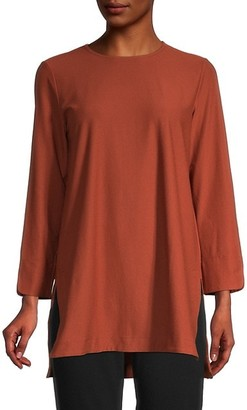 Eileen Fisher High-Low Tunic Top