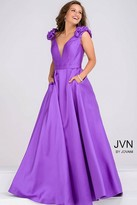 Jovani Plunging Neckline A Line Dress JVN88999