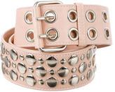 Sonia Rykiel Leather Stud-Embellished Belt
