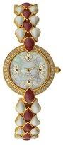 Titan Women's 9747YM01 Theme Raga Intricate Jewelry Inspired Crystal Gold Tone Watch