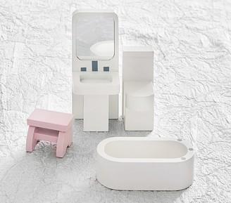Pottery Barn Kids Dollhouse Bathroom Set