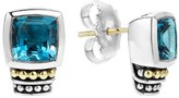 Lagos Women's 'Caviar Color' Semiprecious Stone Stud Earrings