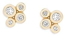 Adina Reyter 14K Yellow Gold Diamond Cluster Barnacles Stud Earrings