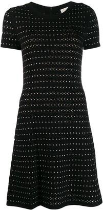 MICHAEL Michael Kors studded knitted dress