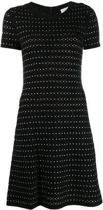 MICHAEL Michael Kors Studded Knitted Dress