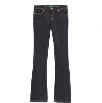 Benetton 5-Pocket Bootcut Jeans