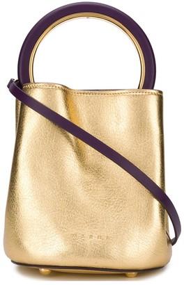 Marni Metallic Sheen Bucket Bag