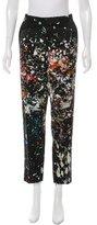 J. Mendel Mid-Rise Straight-Leg Pants