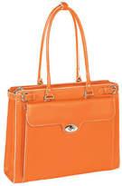 McKlein McKleinUSA Winnetka 15.4 Leather Laptop Briefcase w/ Removable Sleeve