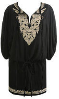 Embroidered Drop Waist Tunic