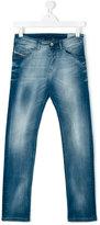 Diesel teen Belther-J jeans - kids - Cotton/Polyester/Spandex/Elastane - 14 yrs