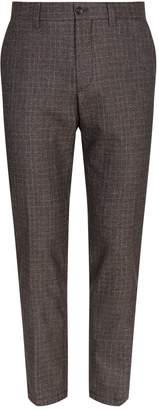 Corneliani Check Trousers