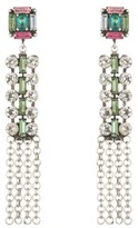 Dannijo Women's Akili Crystal Drop Earrings