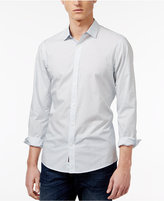 Michael Kors Men's Samson Slim-Fit Dash-Pattern Cotton Shirt