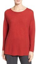 Eileen Fisher Women's Boxy Ribbed Wool Sweater
