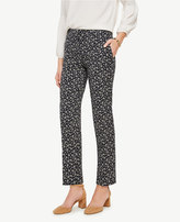 Ann Taylor Tall Kate Budding Blossom Everyday Ankle Pants