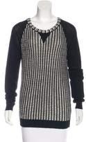 Rachel Zoe Wool-Blend Two-Toned Sweater