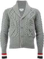 Thom Browne shawl lapel cardigan