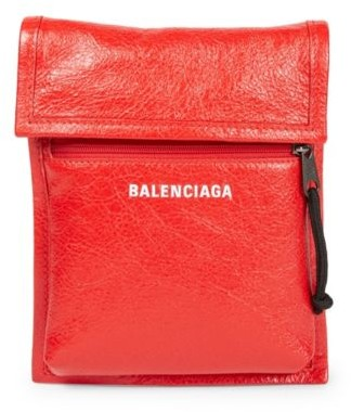 Balenciaga Arena Leather Explorer Pouch