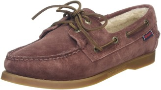 Sebago Women's Docksides Shearling Boat Shoes