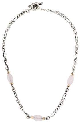 David Yurman Rose Quartz Bijoux Necklace