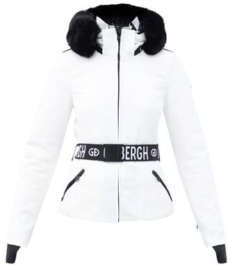 Goldbergh Hida Quilted Down Shell Ski Jacket - White
